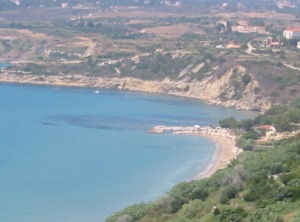 Ariatomenis Studios view of sea
